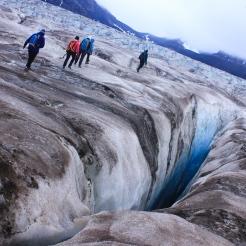 Randonnée sur le glacier de Svea