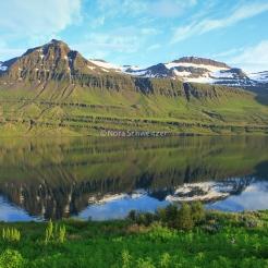Sur la route de Breiðdalsvík, dans l'est de l'Islande
