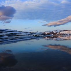 Lac sur la route entre Egilsstaðir et Seyðisfjörður