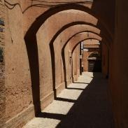 Dans les ruelles de la vieille ville de Yazd