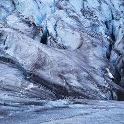 Détail du glacier de Svea