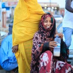 Femmes sur le marché d'Atar