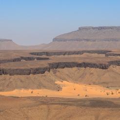 Les magnifiques canyons de Terjit, Adrar