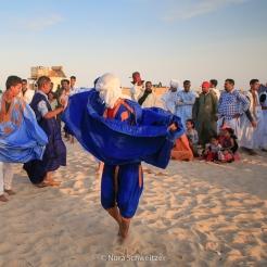 Concert sur la plage de Nouakchott