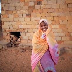 Jeune fille de Ouadane, Adrar