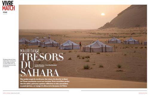 """La première double de l'article """"Trésors du Sahara"""""""