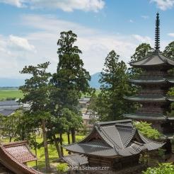 Le temple Zenpoji, Yamagata Japon © Nora Schweitzer