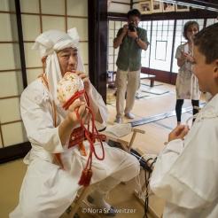 Initiation au culte yamabushi, Yamagata, Japon © Nora Schweitzer