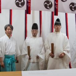 Les moines yamabushi du mont Haguro, Yamagata, Japon © Nora Schweitzer